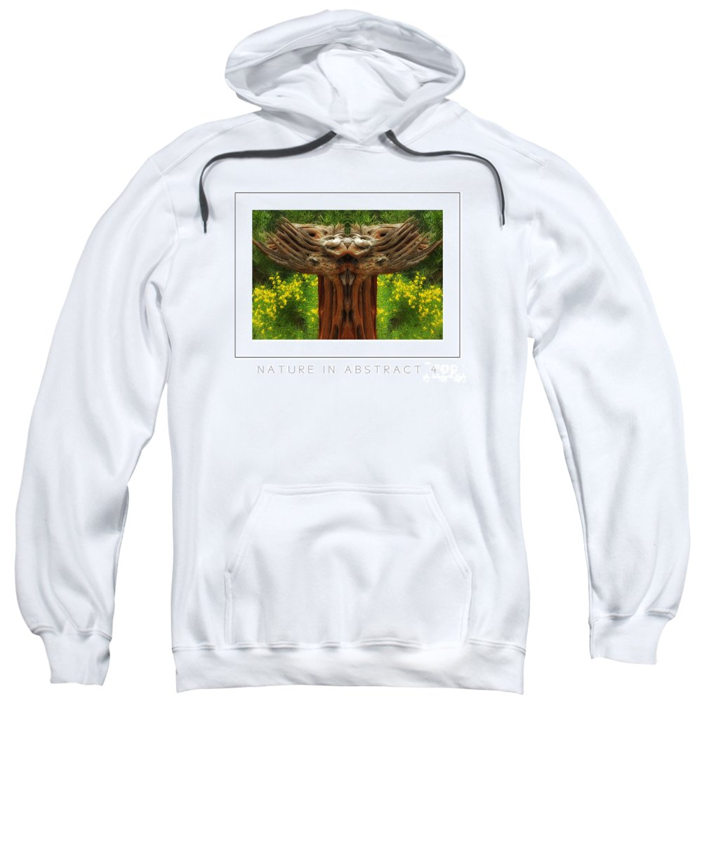 Sweatshirt featuring the photograph Nature In Abstract 4 Poster by Mike Nellums