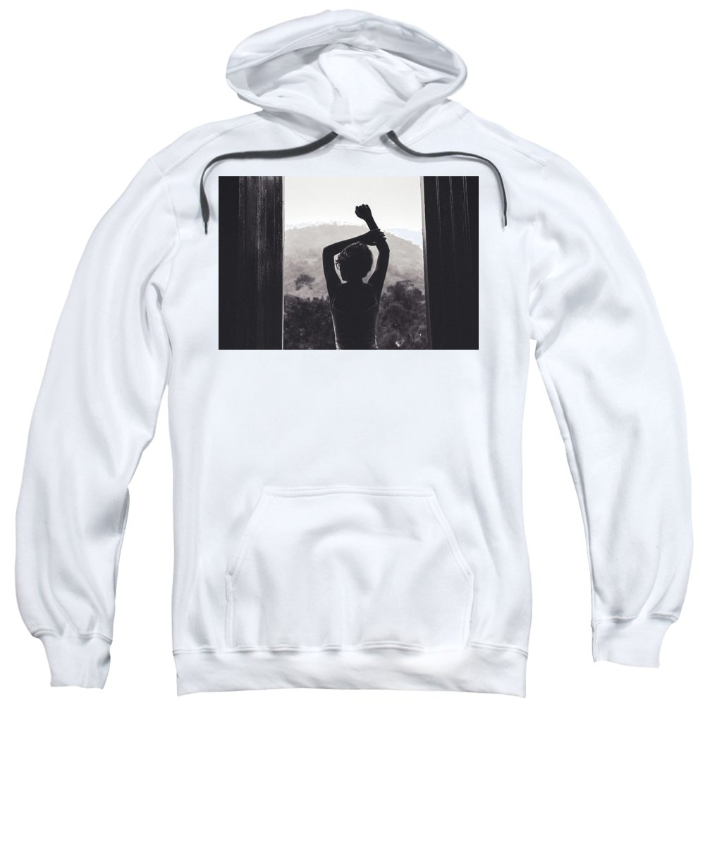 Portrait Sweatshirt featuring the photograph Nature Window. by Lincon Vidal