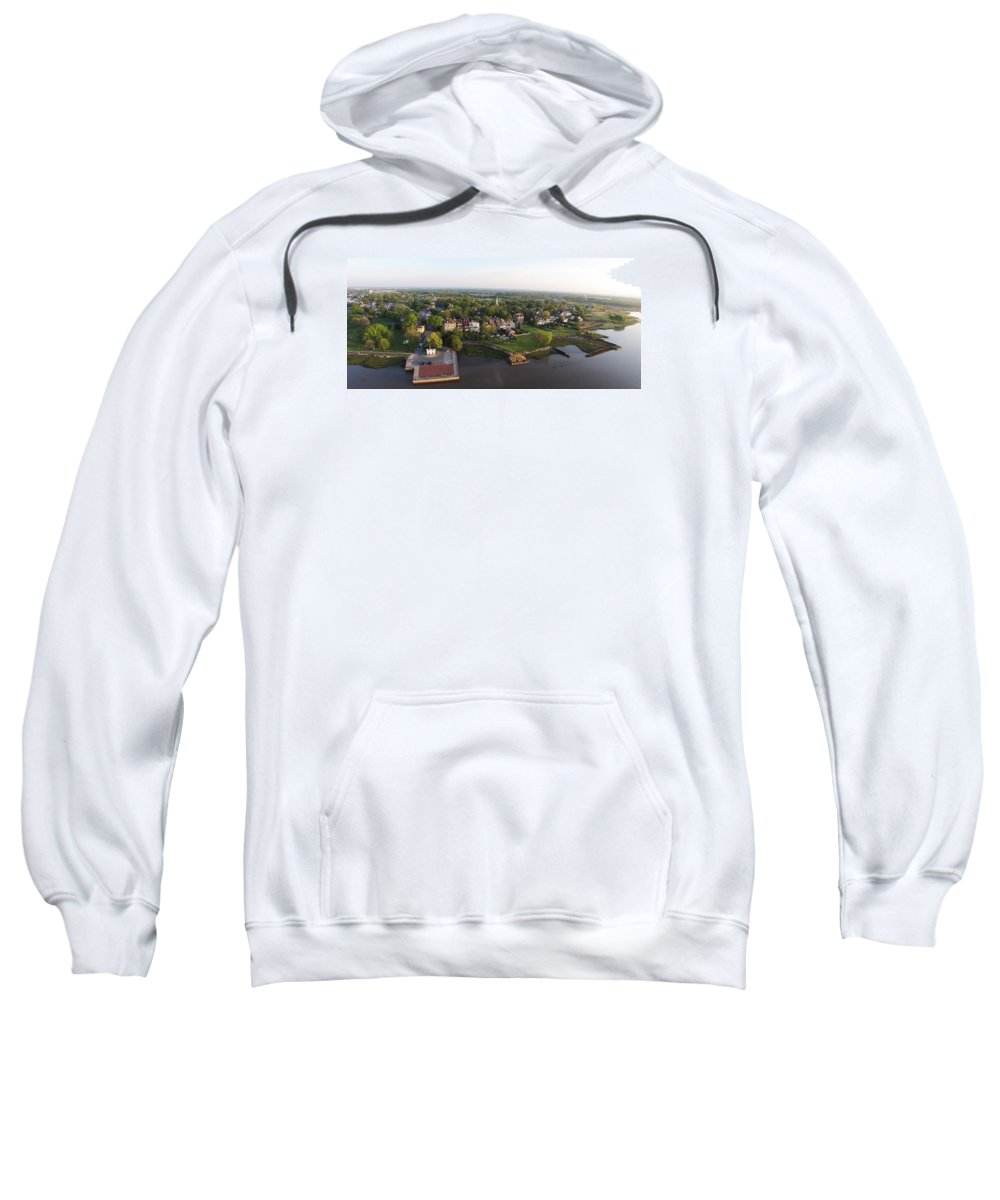 New Castle Sweatshirt featuring the photograph New Castle, Delaware by Bruce Burk