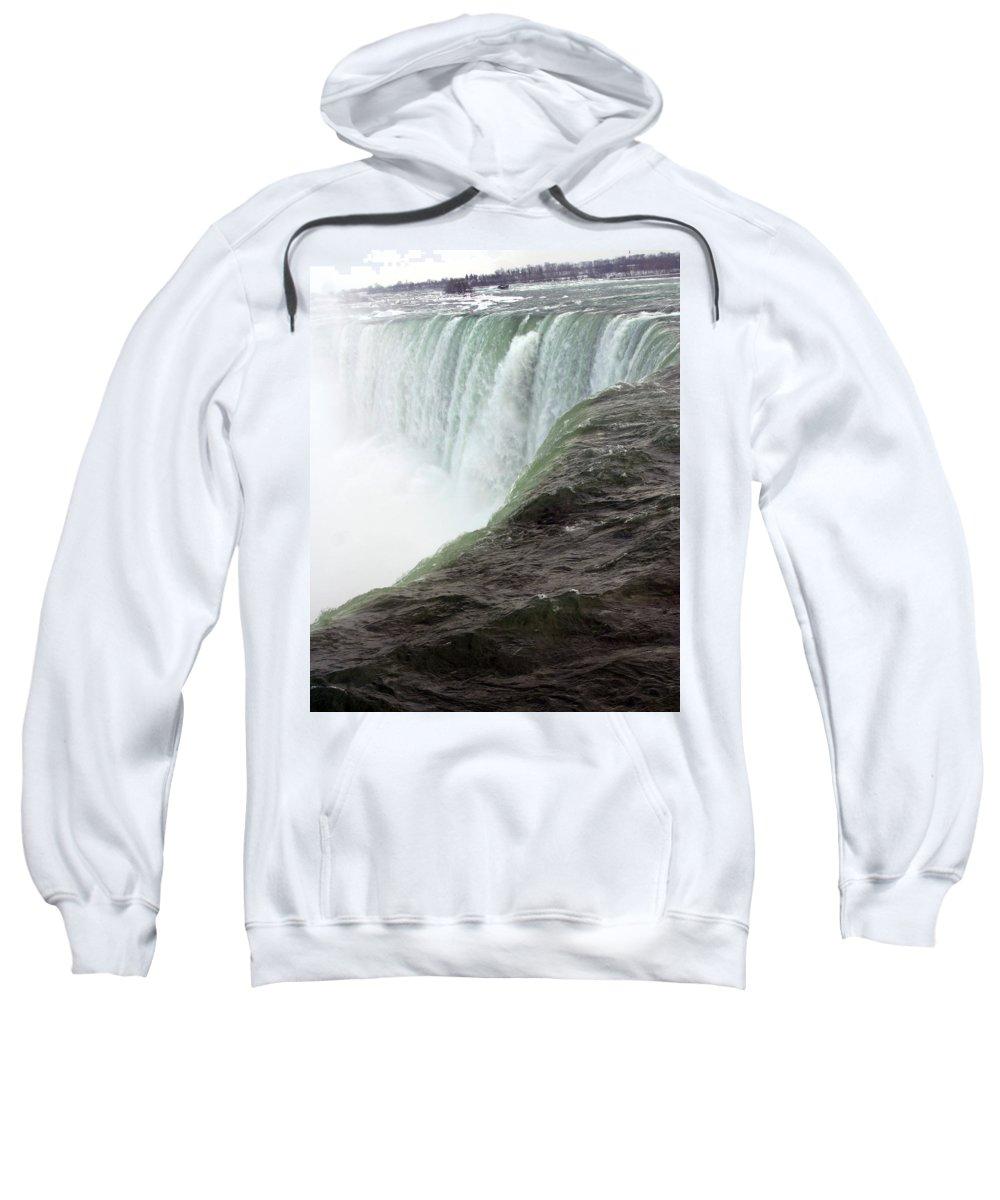 Niagara Falls Sweatshirt featuring the photograph Niagara Falls 1 by Anthony Jones