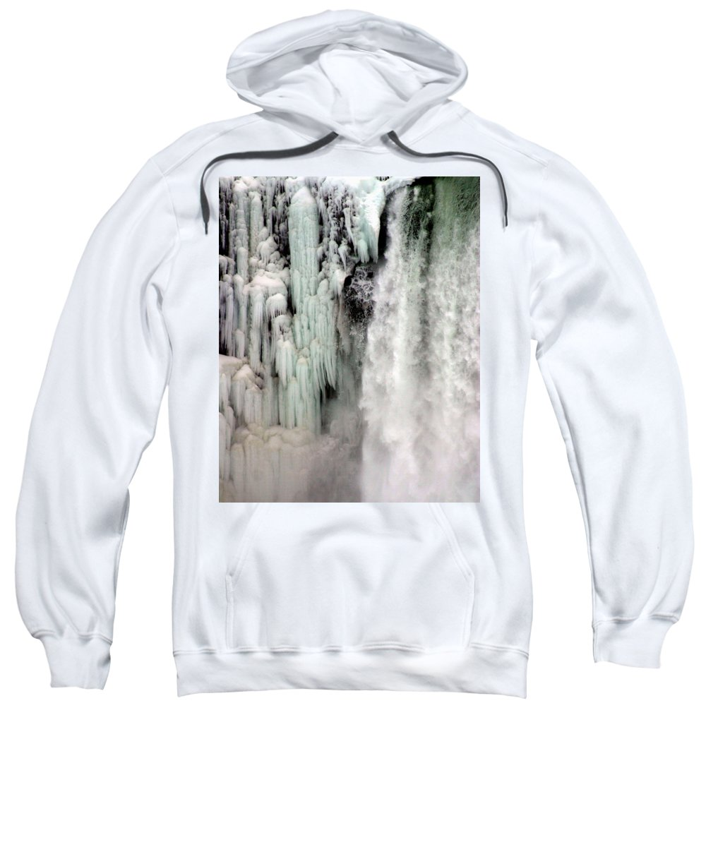 Landscape Sweatshirt featuring the photograph Niagara Falls 5 by Anthony Jones