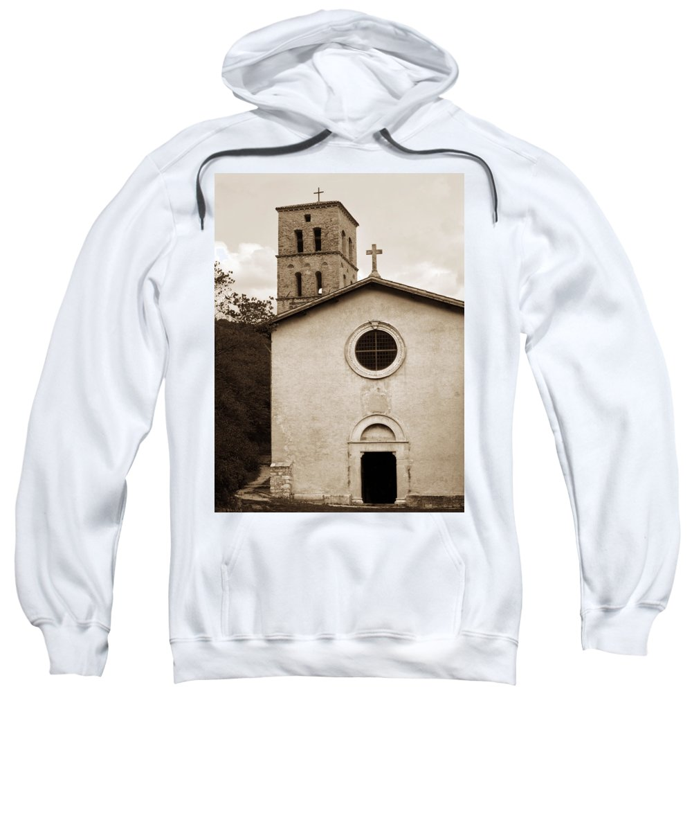 Curch Sweatshirt featuring the photograph Nice Old Church For Wedding by Marilyn Hunt