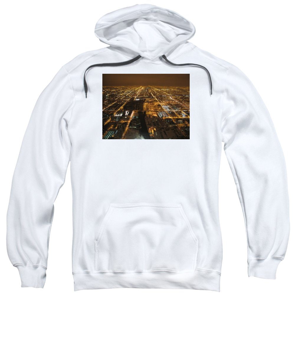Photograph Sweatshirt featuring the photograph Night And Light by Ayse Belgin Bal