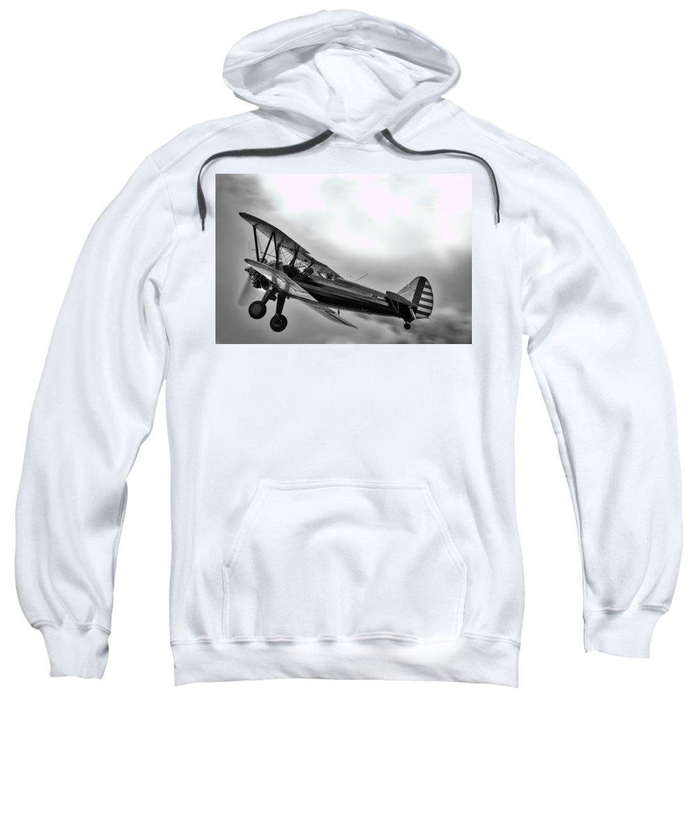 Flying Sweatshirt featuring the photograph No Boundaries by Douglas Craig