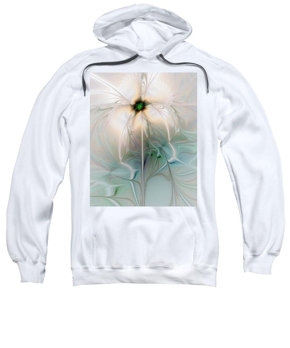Digital Art Sweatshirt featuring the digital art Nostalgia by Amanda Moore