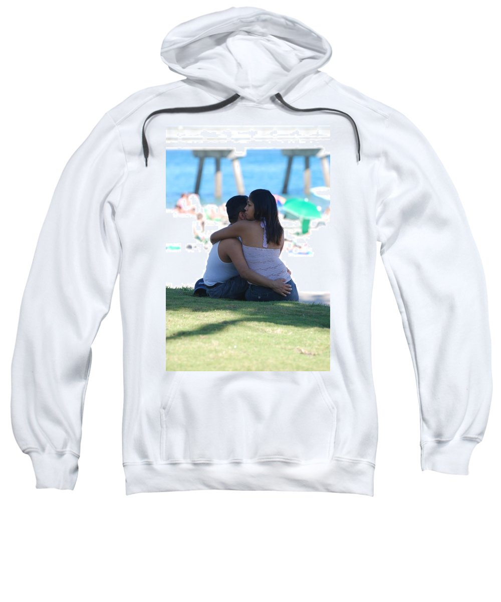 People Sweatshirt featuring the photograph Not Married by Rob Hans