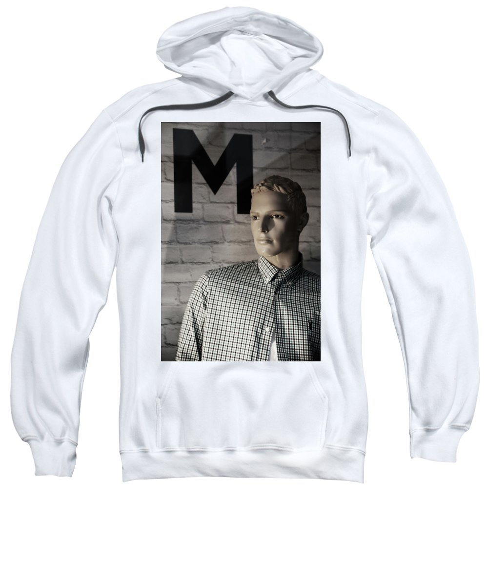 Bradford Sweatshirt featuring the photograph Not My M by Jez C Self