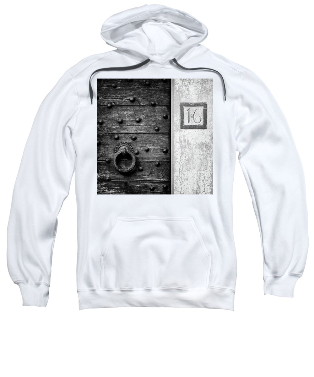 Number 16 Sweatshirt featuring the photograph Number 16 by Dave Bowman
