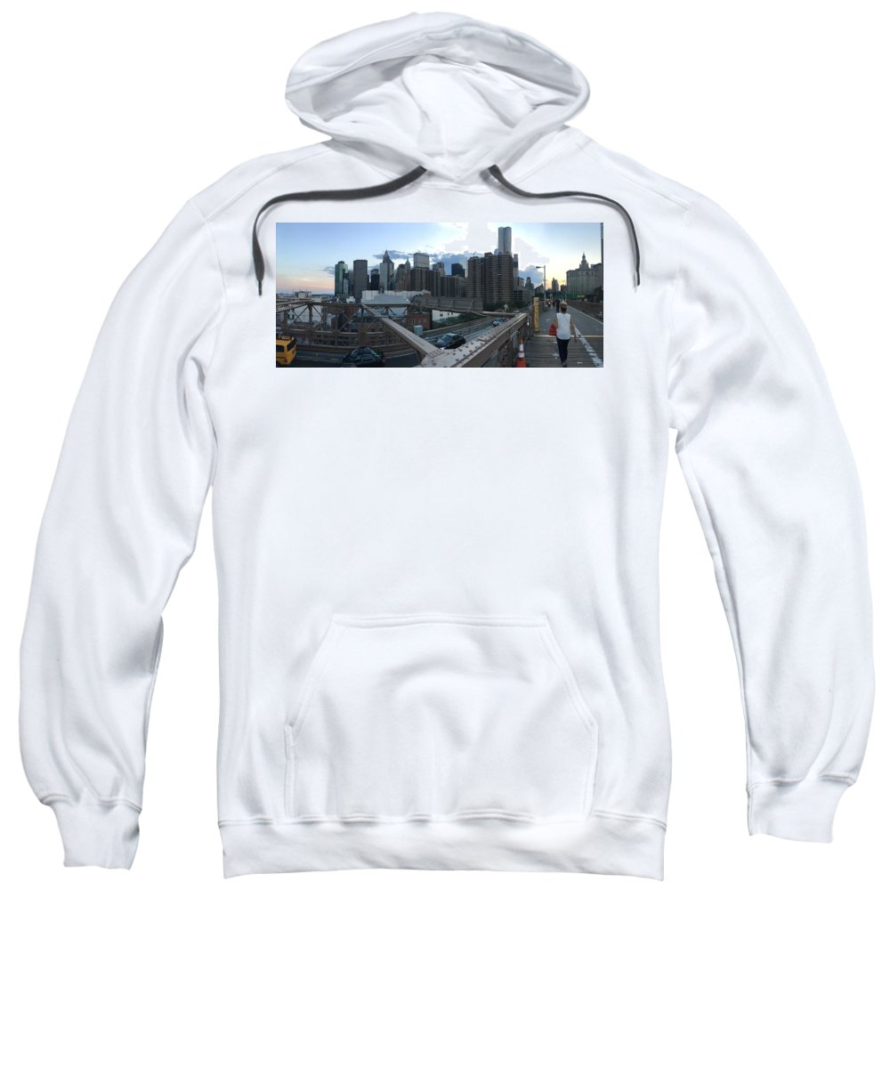 Sweatshirt featuring the photograph NYC by Ashley Torres