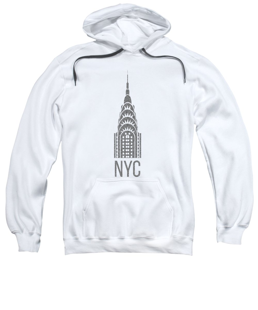 Chrysler Building Hooded Sweatshirts T-Shirts