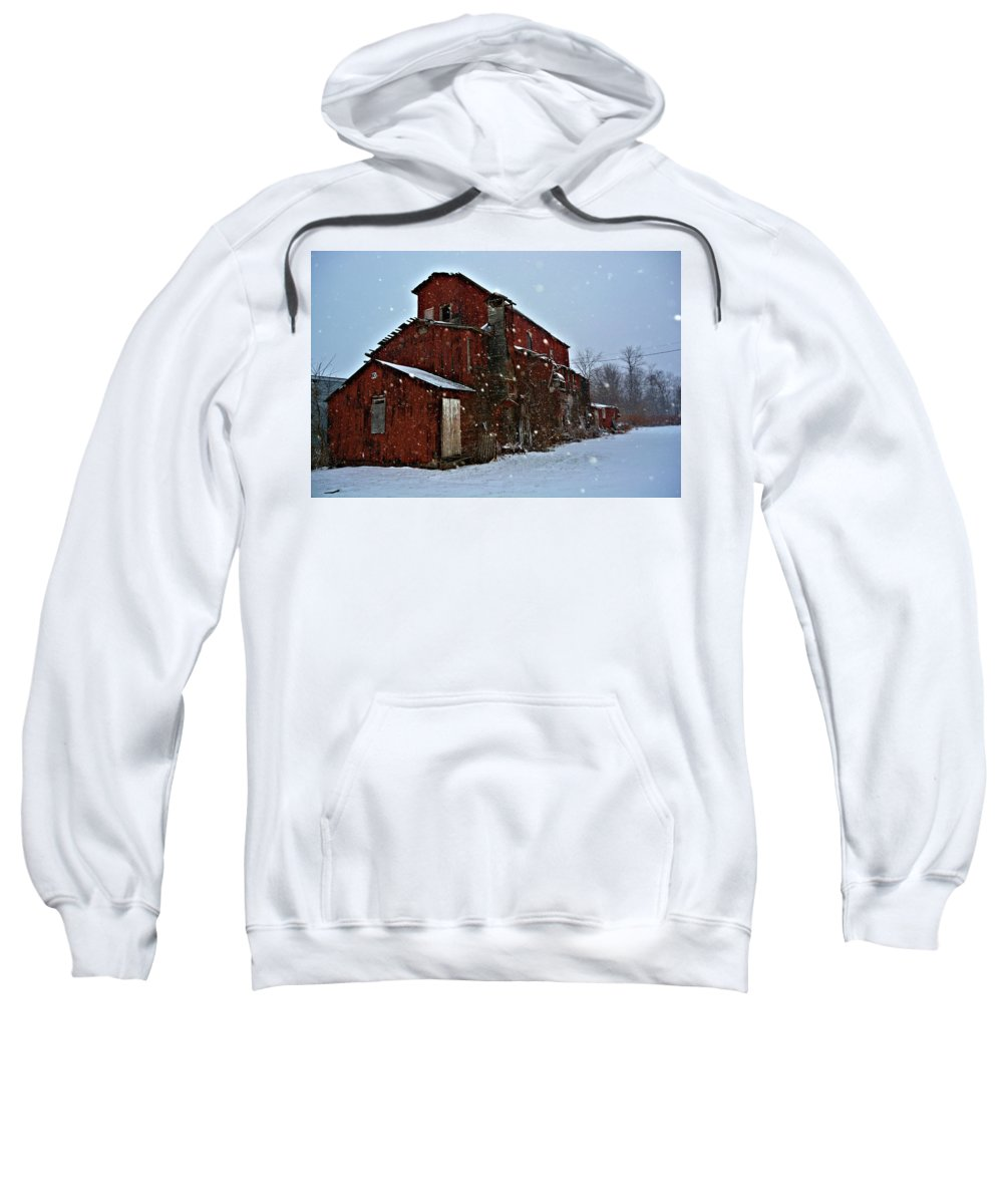 Architecture Sweatshirt featuring the photograph Old Warehouse by Richard Jenkins