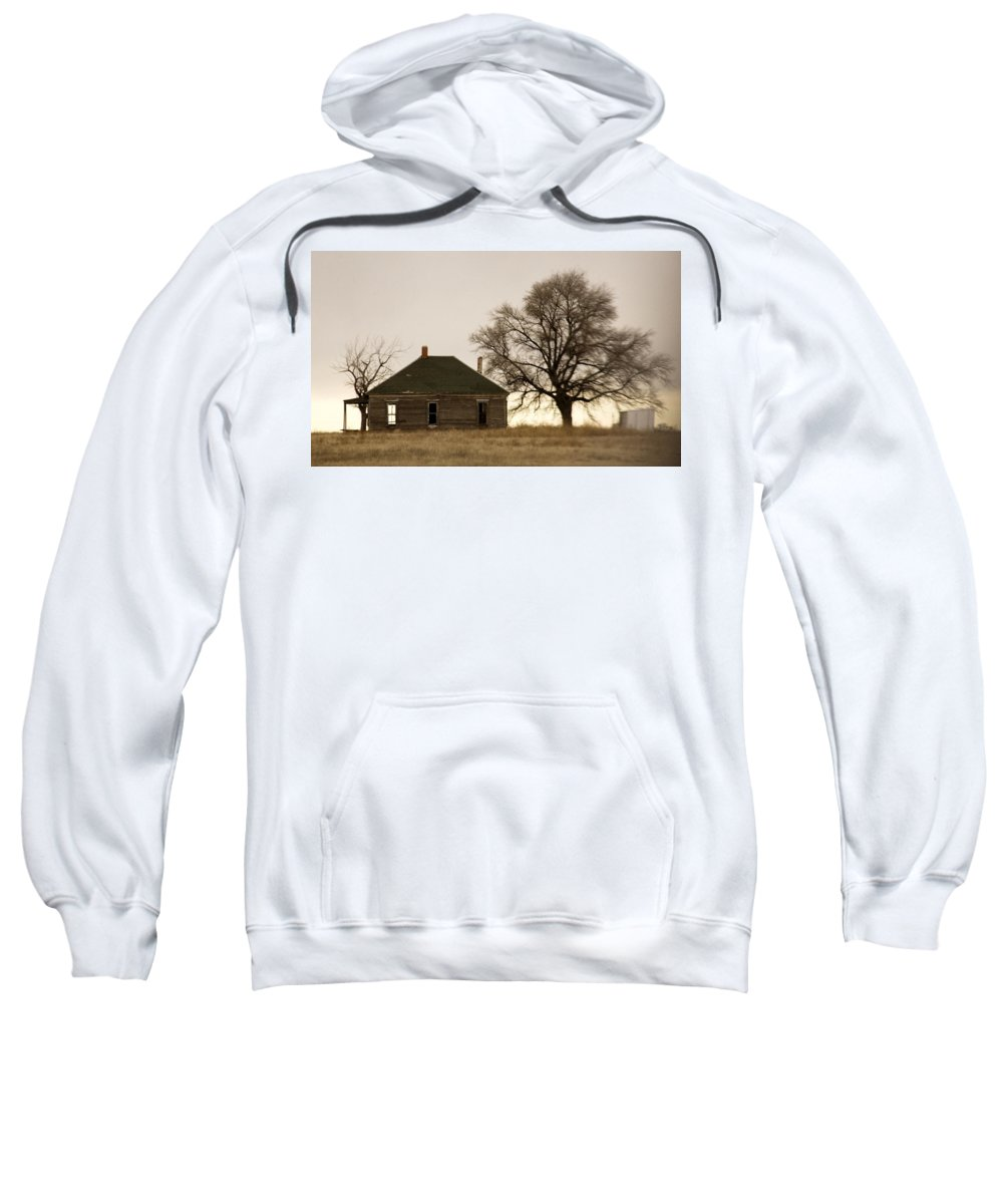 Americana Sweatshirt featuring the photograph Once Upon A Time In West Texas by Marilyn Hunt