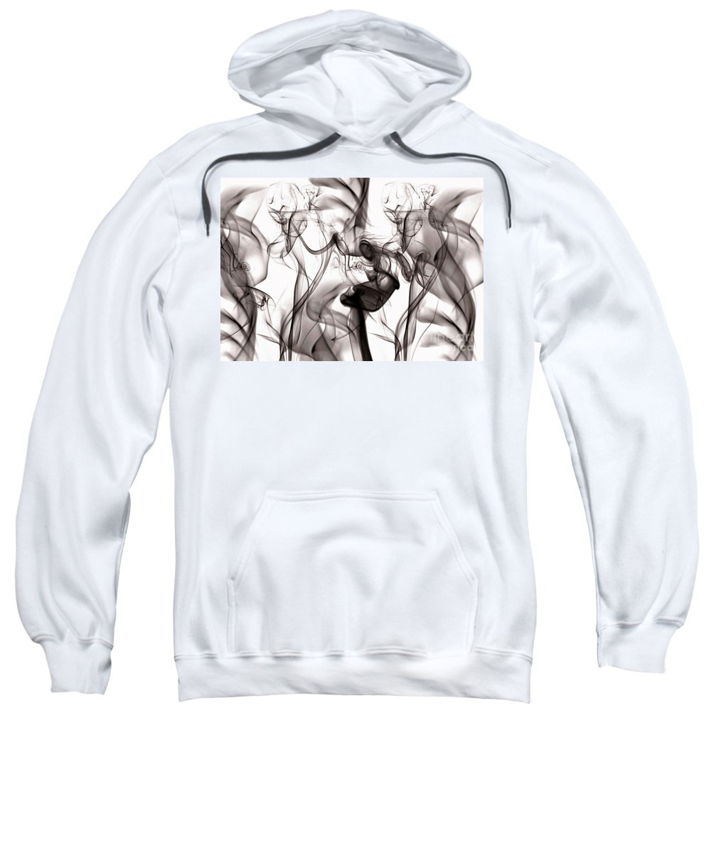 Clay Sweatshirt featuring the digital art One Among Many by Clayton Bruster