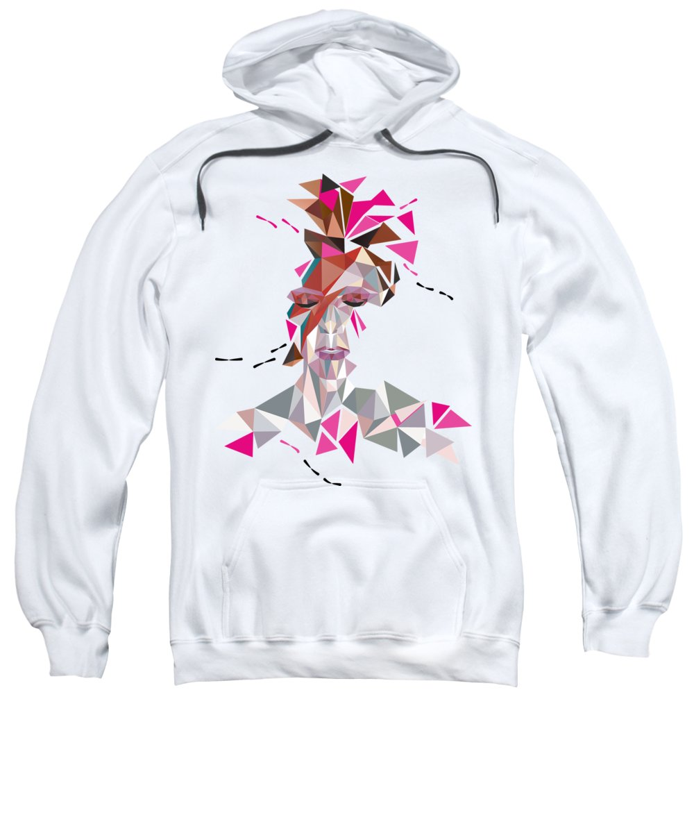Glam Rock Digital Art Hooded Sweatshirts T-Shirts