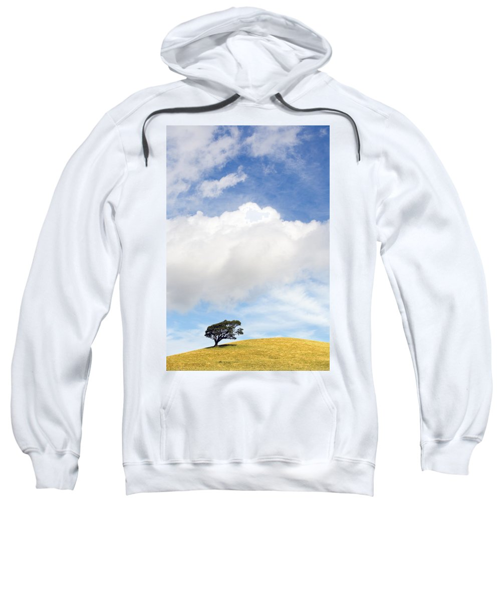 Landscape Sweatshirt featuring the photograph One Tree Hill by Mal Bray