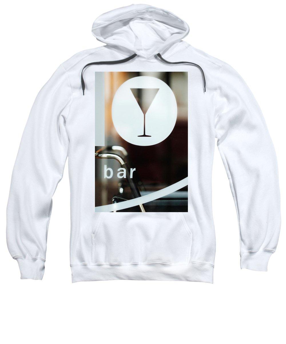 Bar Sweatshirt featuring the photograph Open Bar by Jill Reger