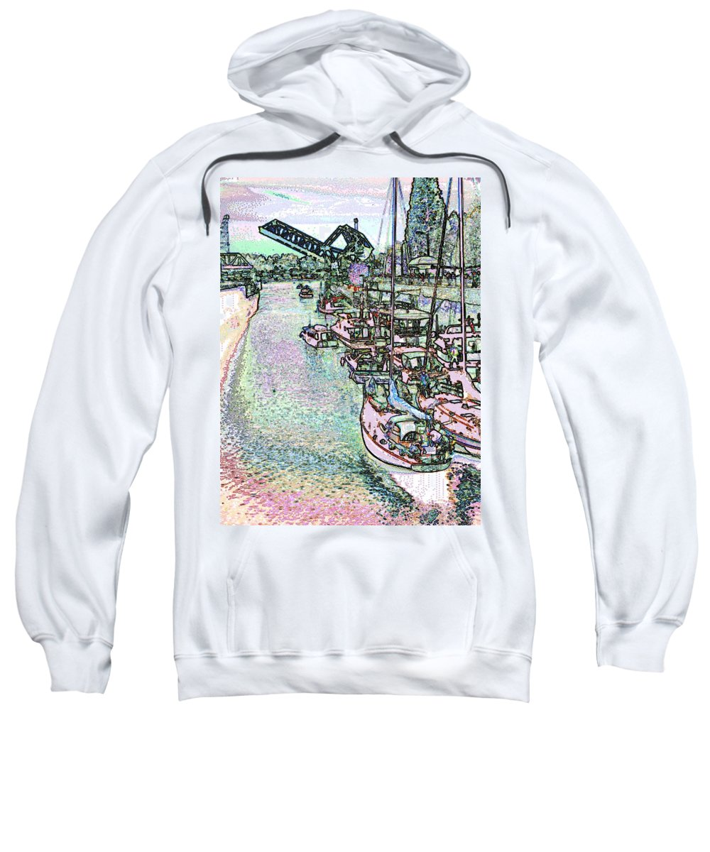 Seattle Sweatshirt featuring the photograph Opening Day Of Boating by Tim Allen