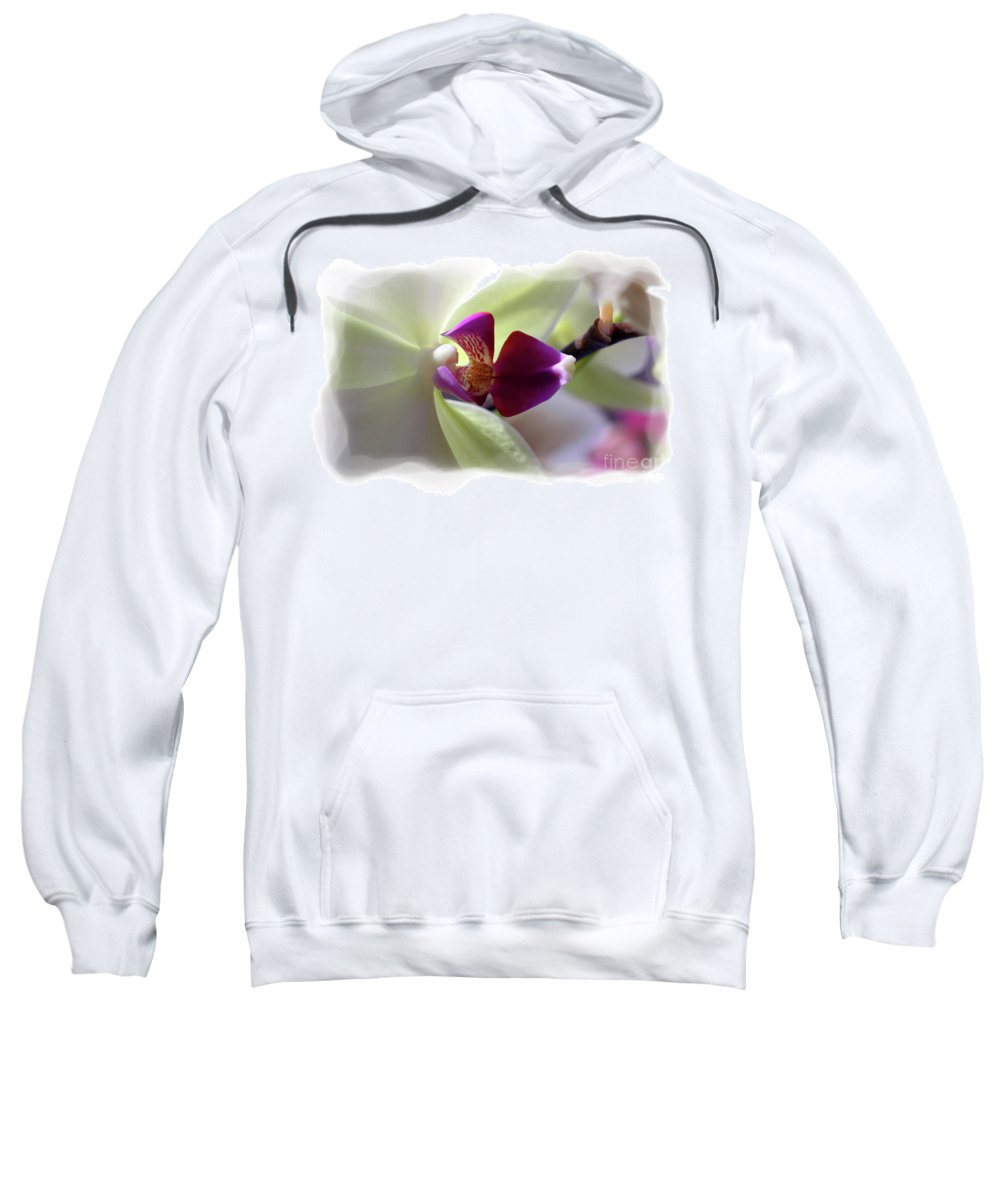 Orchid Sweatshirt featuring the photograph Orchid 2 by David Bearden