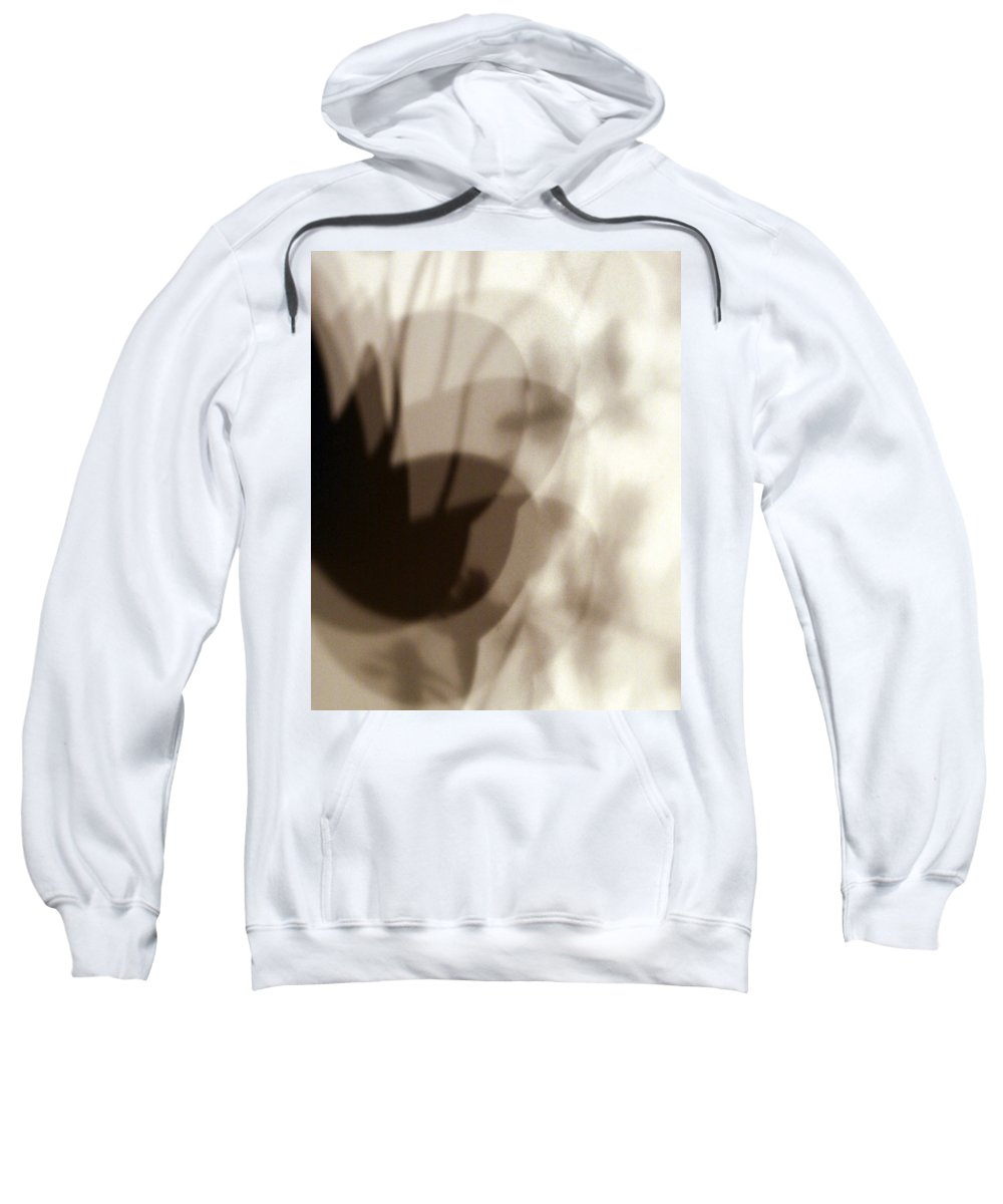 Shadow Sweatshirt featuring the photograph Orchid Shadow 1 by Marilyn Hunt