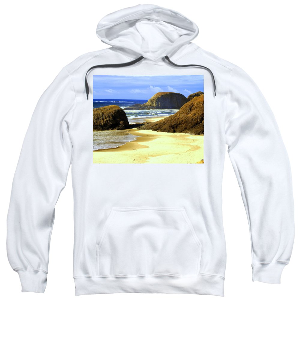 Ocean Sweatshirt featuring the photograph Oregon Coast 18 by Marty Koch