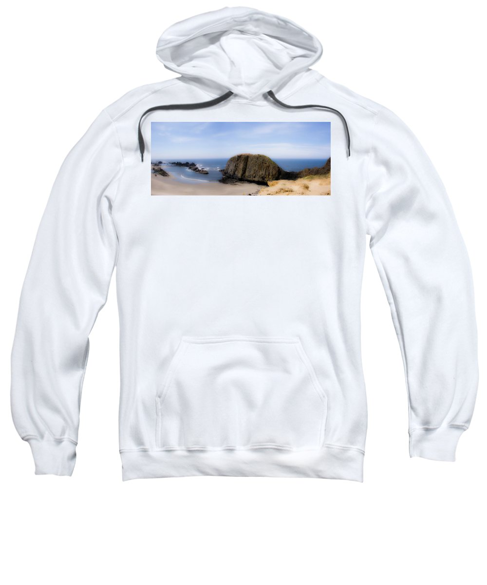 Oregon Sweatshirt featuring the photograph Oregon Coast 4 by Lee Santa