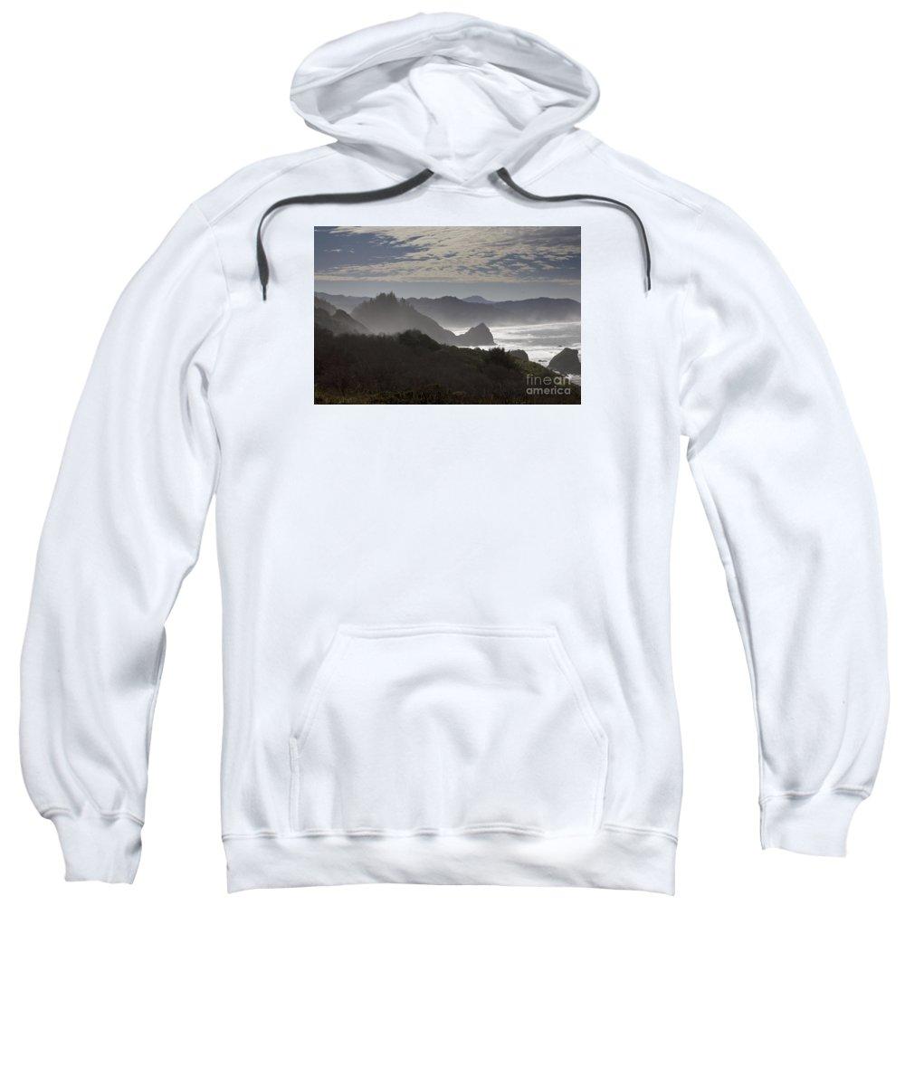 Oregon Sweatshirt featuring the photograph Oregon Coast #4 by Timothy Johnson