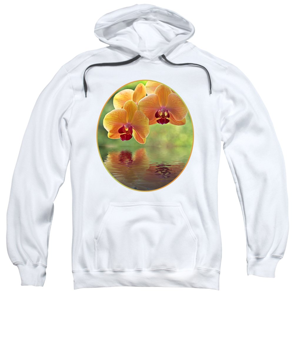 Orchids Hooded Sweatshirts T-Shirts