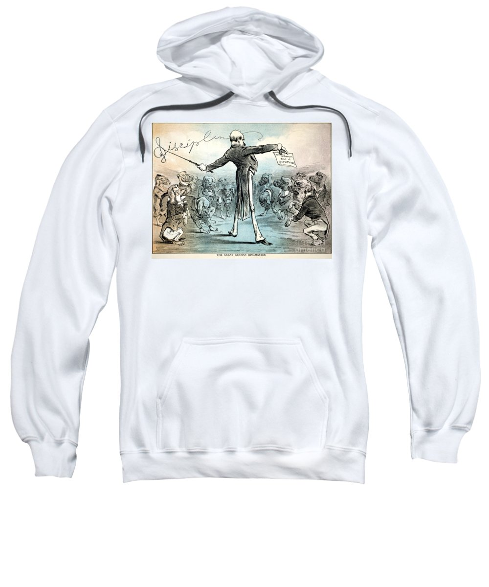 1879 Sweatshirt featuring the photograph Otto Von Bismarck by Granger