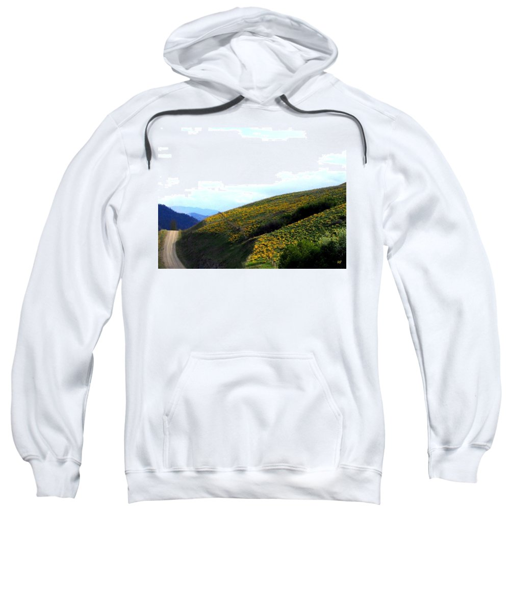 Hills Sweatshirt featuring the photograph Over Hill And Dale by Will Borden