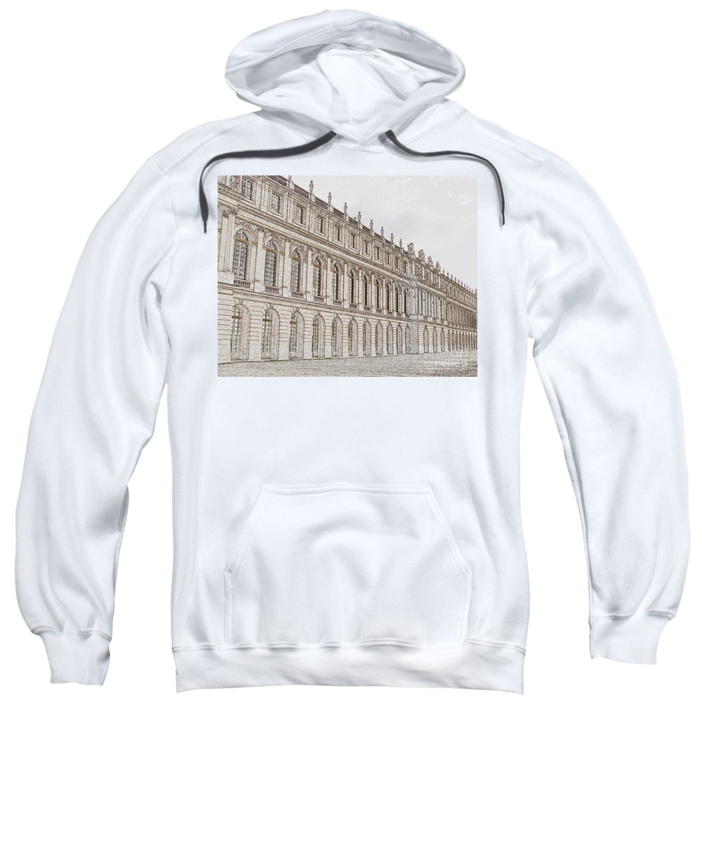 France Sweatshirt featuring the photograph Palace Of Versailles by Amanda Barcon