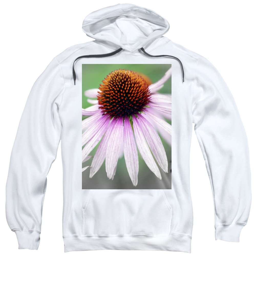 Flowers Sweatshirt featuring the photograph Pale Grey by Marty Koch