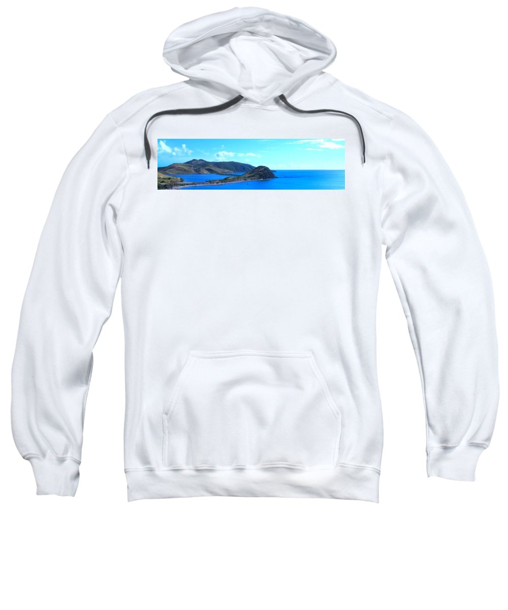 St Kitts Sweatshirt featuring the photograph Panhandle by Ian MacDonald