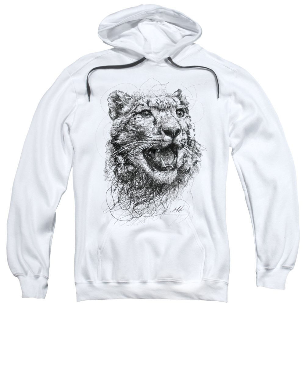 Leopard Hooded Sweatshirts T-Shirts