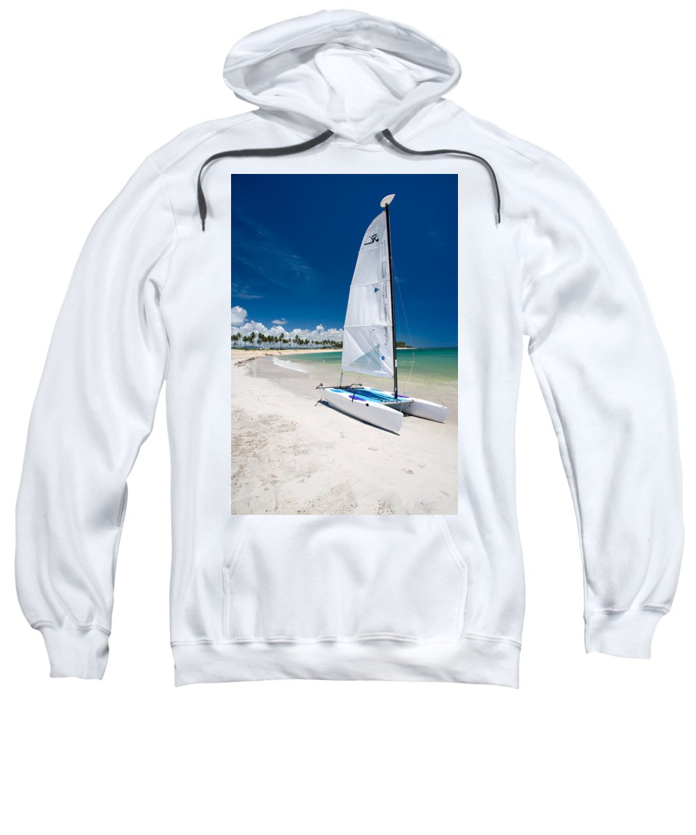 Island Sweatshirt featuring the photograph Paradise Island by Sebastian Musial