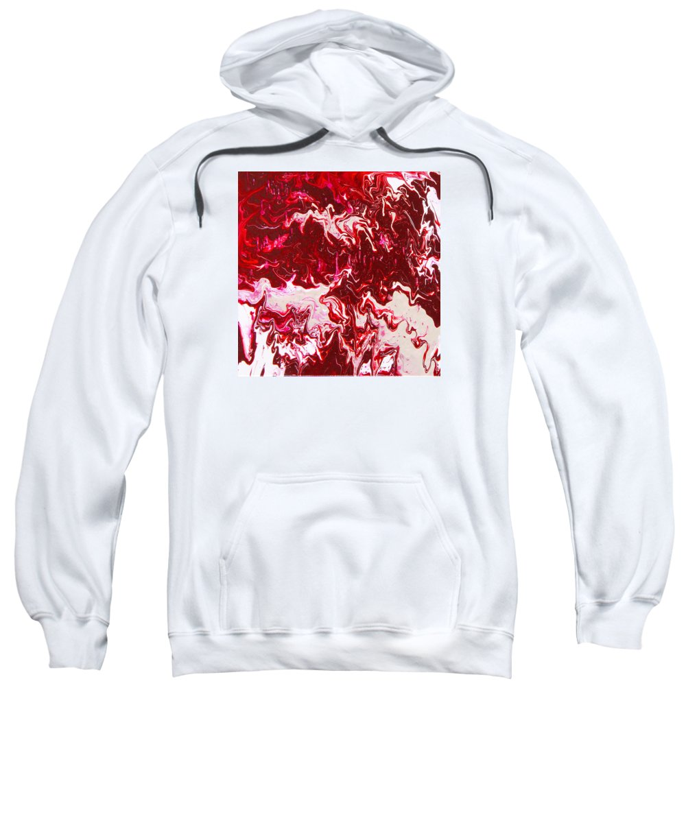 Fusionart Sweatshirt featuring the painting Parfait by Ralph White