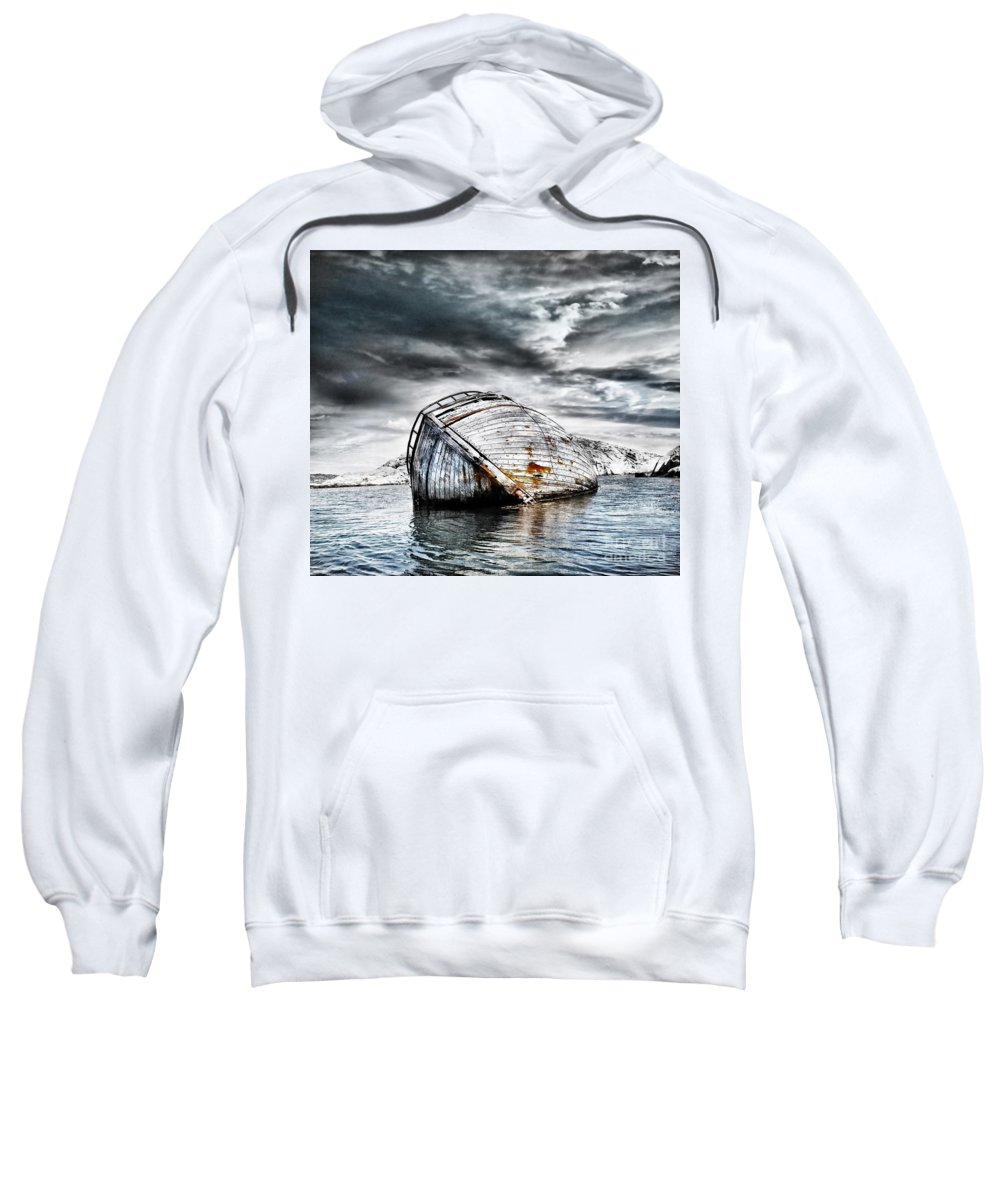 Photodream Sweatshirt featuring the photograph Past Glory by Jacky Gerritsen