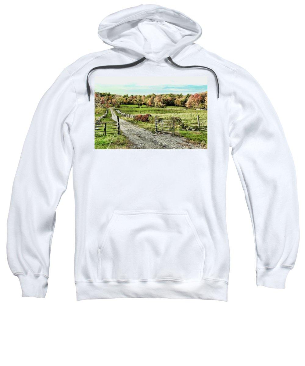 Pastoral Scene Sweatshirt featuring the photograph Pastoral Scene by Bill Dussault