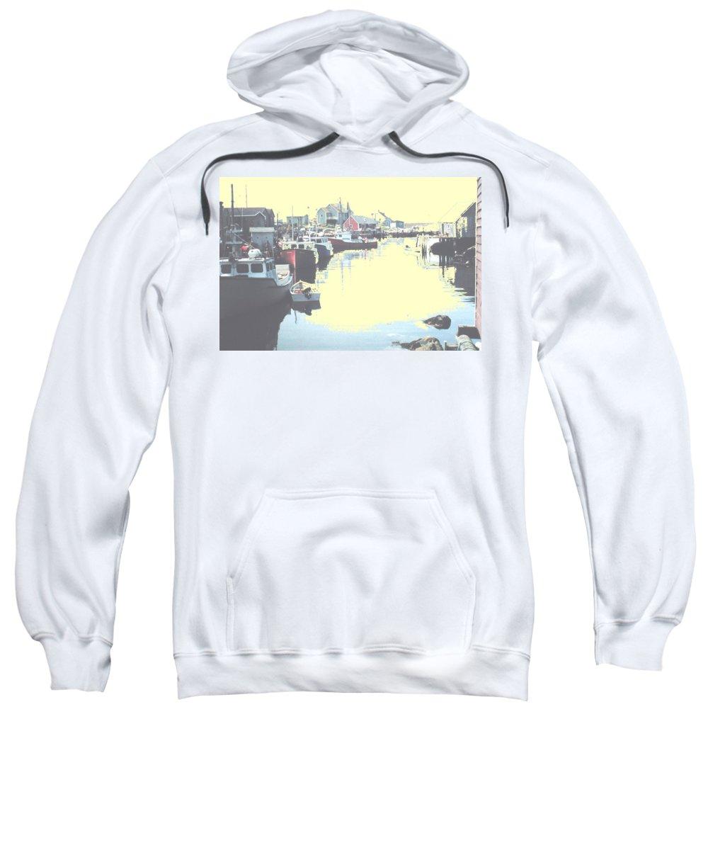 Nova Scotia Sweatshirt featuring the photograph Peggy by Ian MacDonald