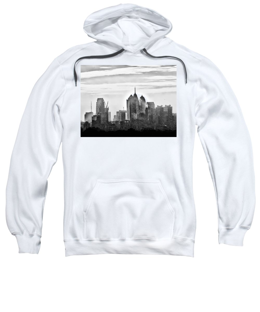 Philadelphia Sweatshirt featuring the photograph Philadelphia by Bill Cannon