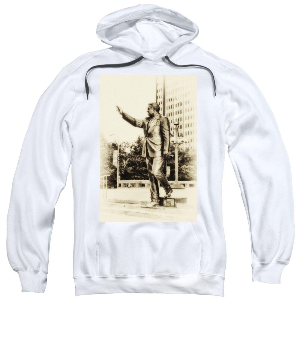 Mayor Sweatshirt featuring the photograph Philadelphia Mayor - Frank Rizzo by Bill Cannon