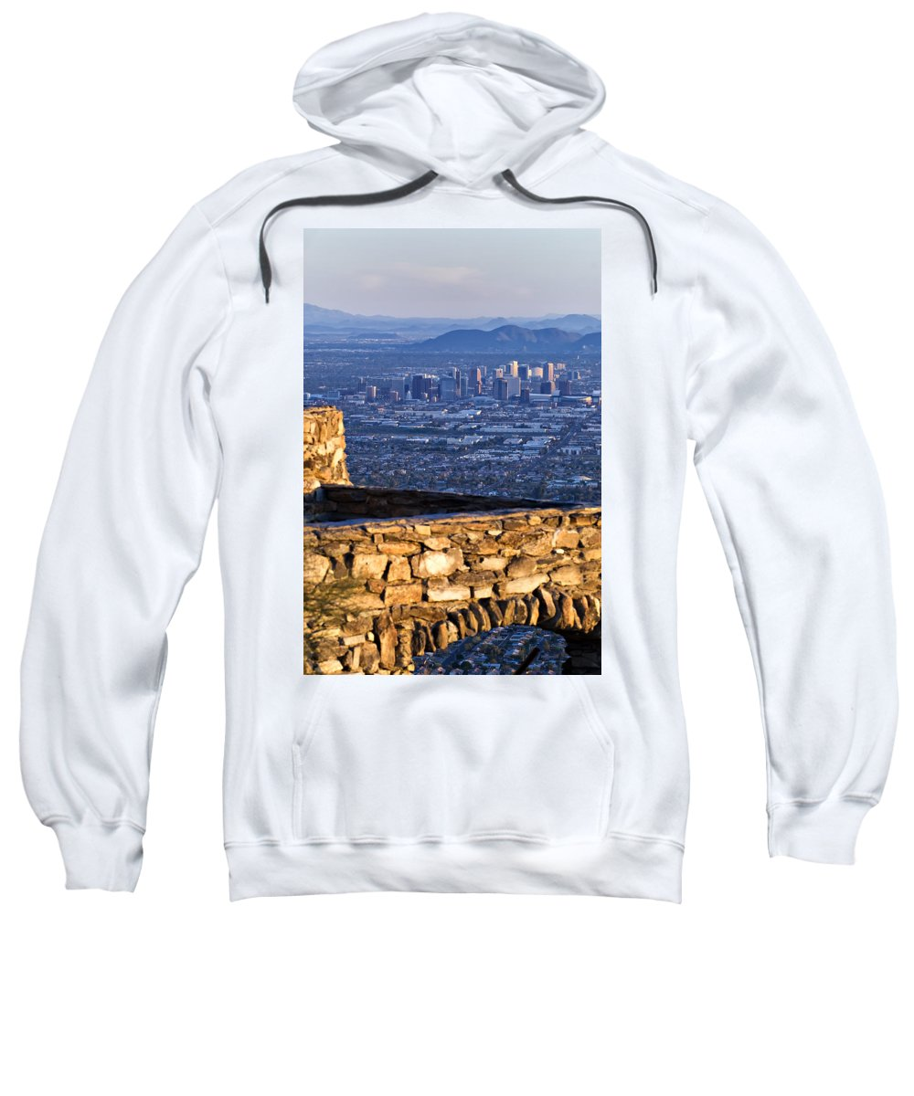 Phoenix Sweatshirt featuring the photograph Phoenix Sunrise by Renee Hong