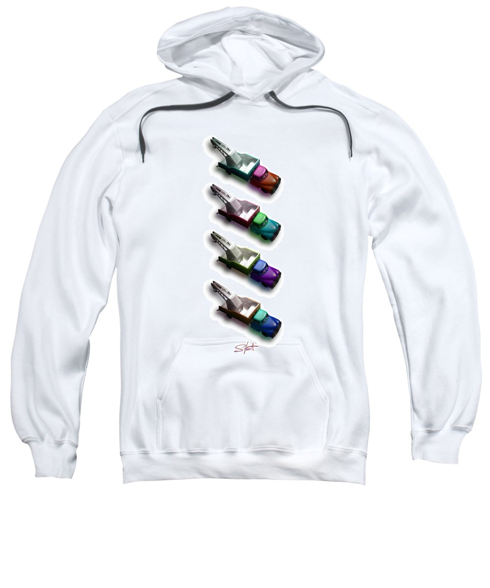 Toy Sweatshirt featuring the photograph Pick Me Up by Charles Stuart
