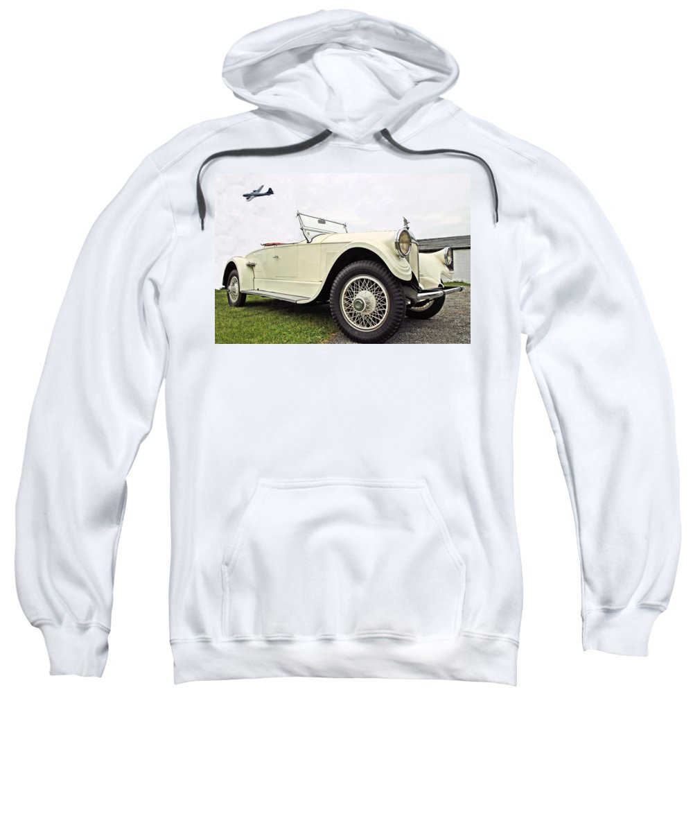 Old Sweatshirt featuring the photograph Pierce Arrow by DJ Florek