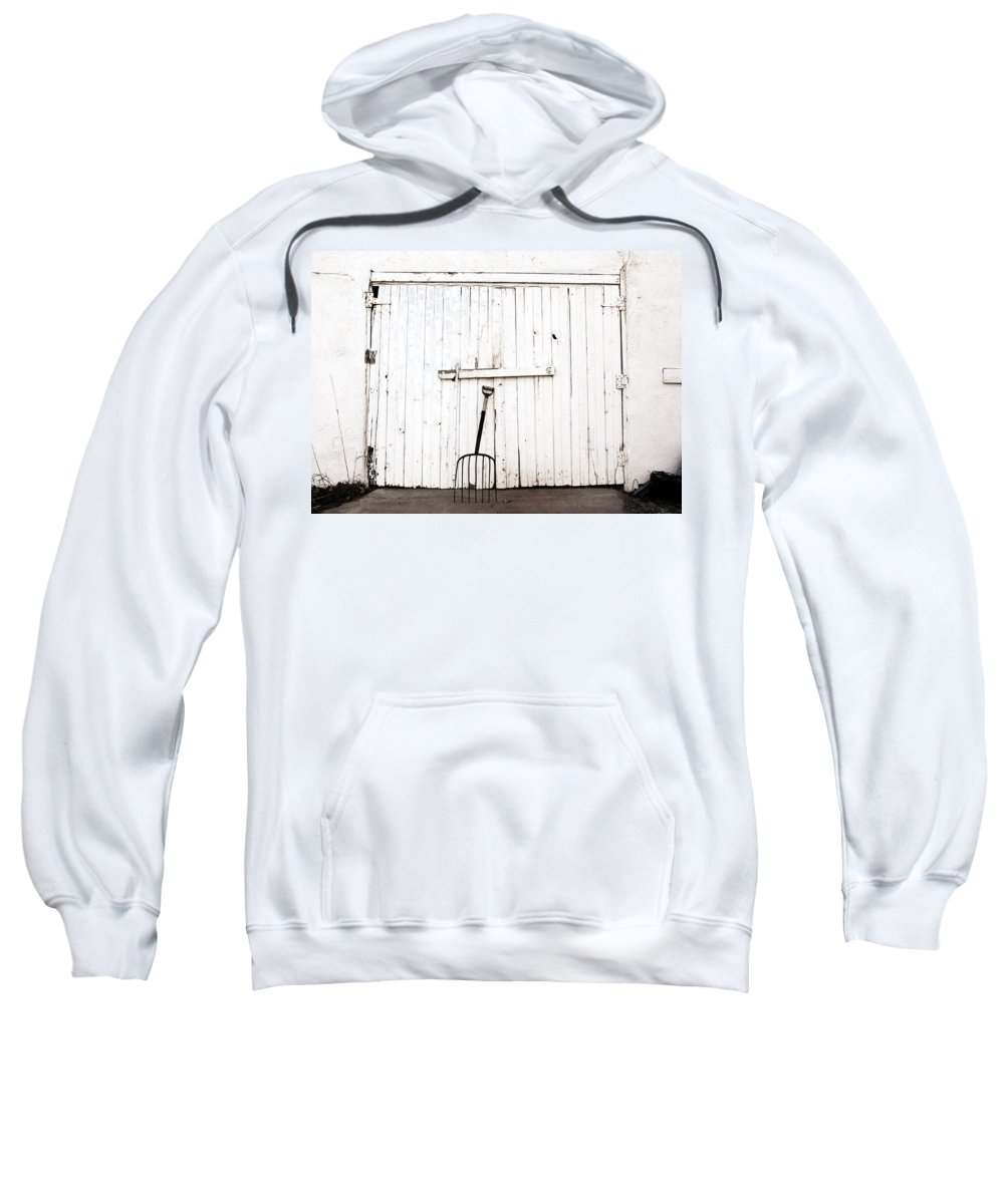 Americana Sweatshirt featuring the photograph Pitch Fork by Marilyn Hunt
