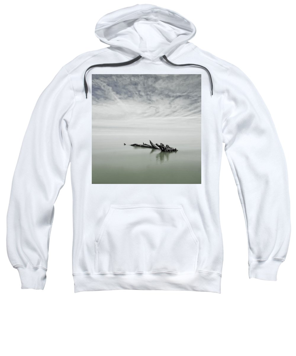 Beach Sweatshirt featuring the photograph Port Franks #1 by Jerry Golab