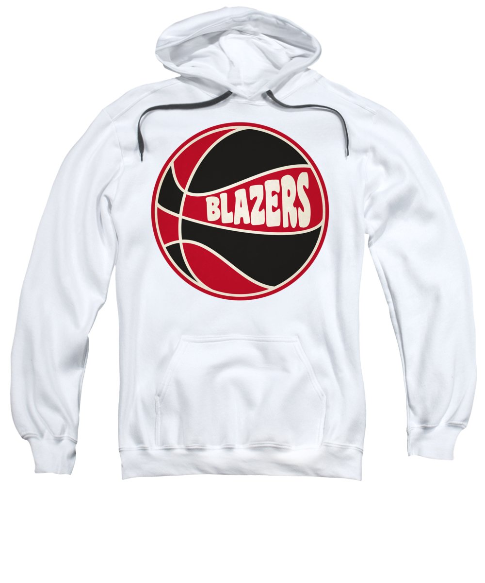 Trail Blazers Sweatshirt featuring the photograph Portland Trail Blazers Retro Shirt by Joe Hamilton