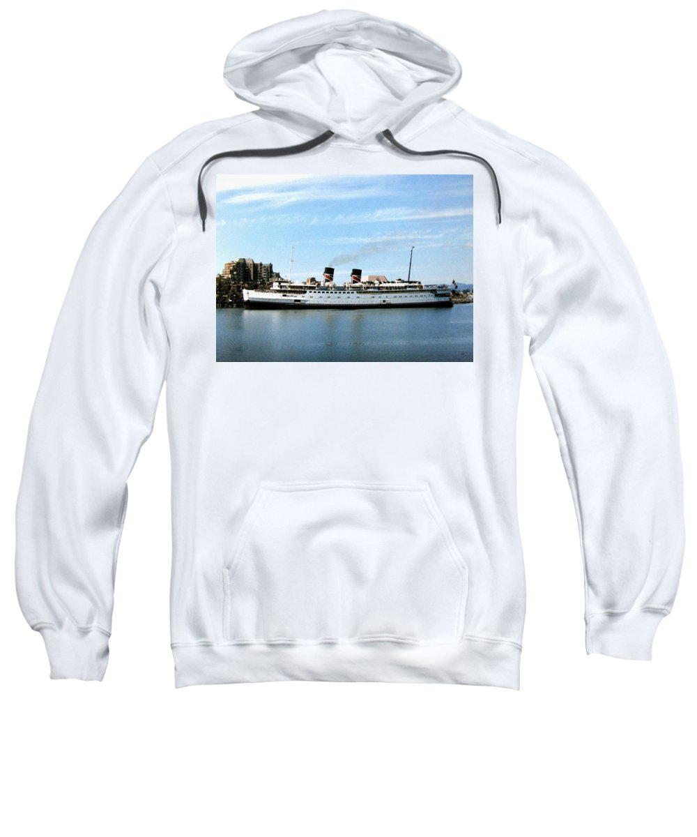 Princess Marguerite Sweatshirt featuring the photograph Princess Marguerite by Will Borden