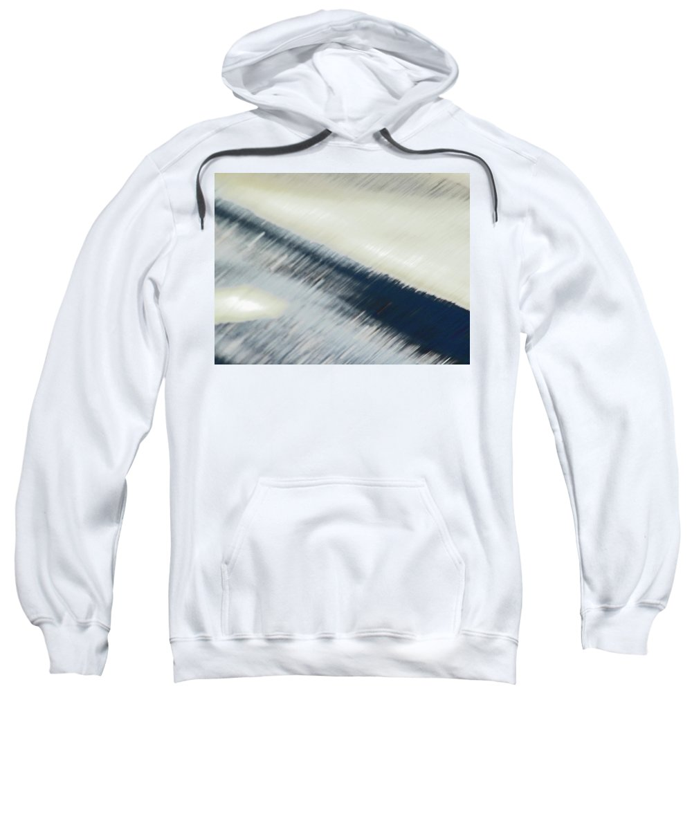 Abstract Sweatshirt featuring the photograph Pueblo Downtown - Street Impression by Lenore Senior