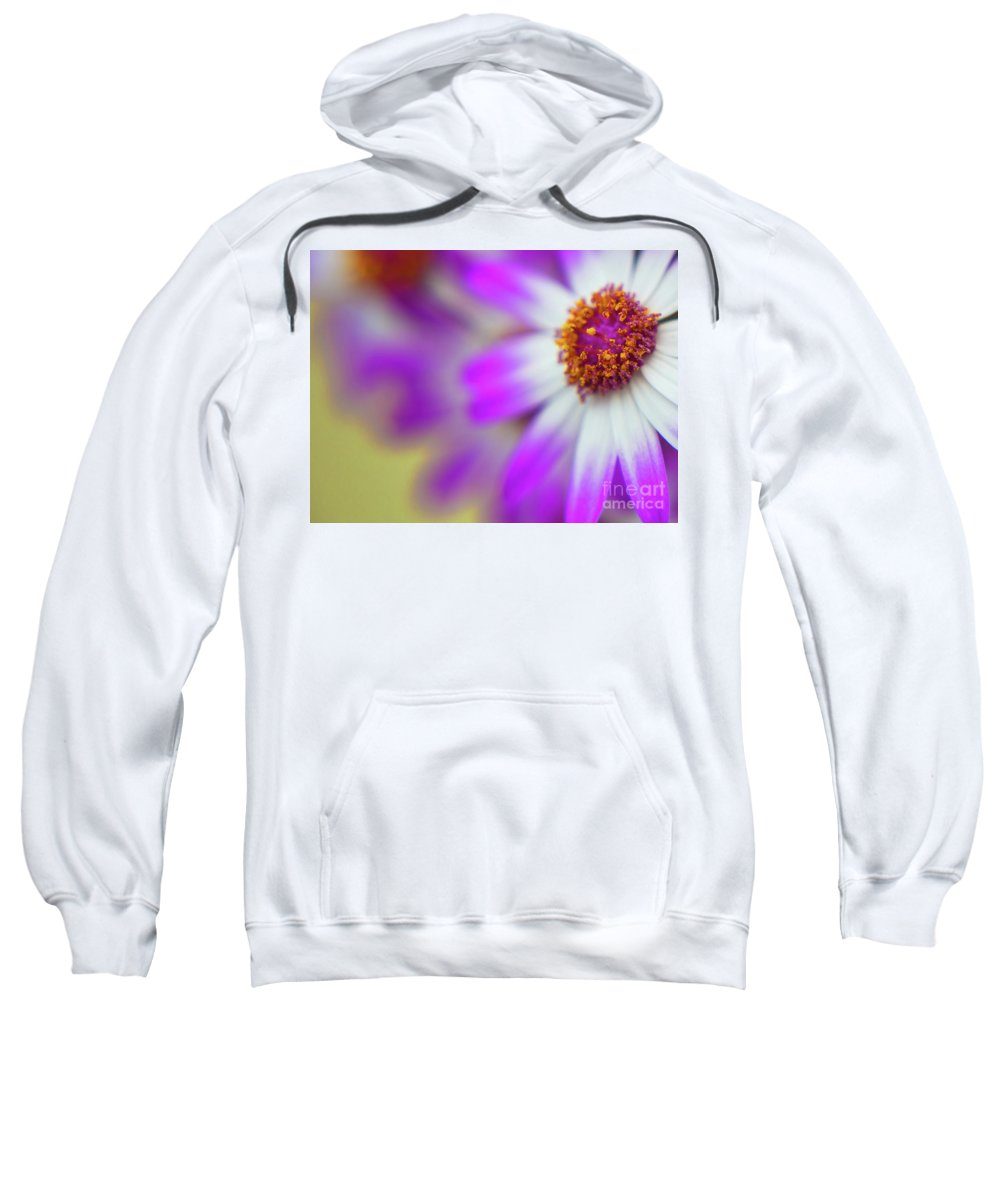 Flora Sweatshirt featuring the photograph Purple Spring 12 by Alex Art and Photo