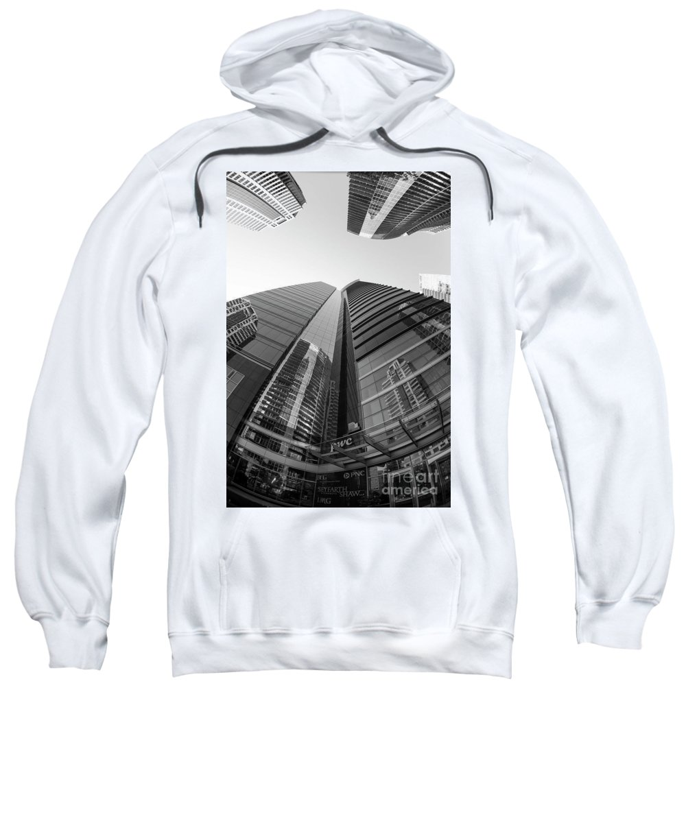 Glass Sweatshirt featuring the photograph Pwc In Atlanta by David Bearden